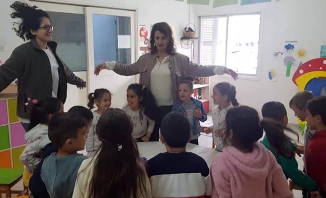 """Günışığı Kreş ve Anaokulunda """"Kıbrıs Bitkileri Oyunu"""" ve """"Müzik Dostları Okulu"""" isimli kukla etkinliği gerçekleştirildi"""