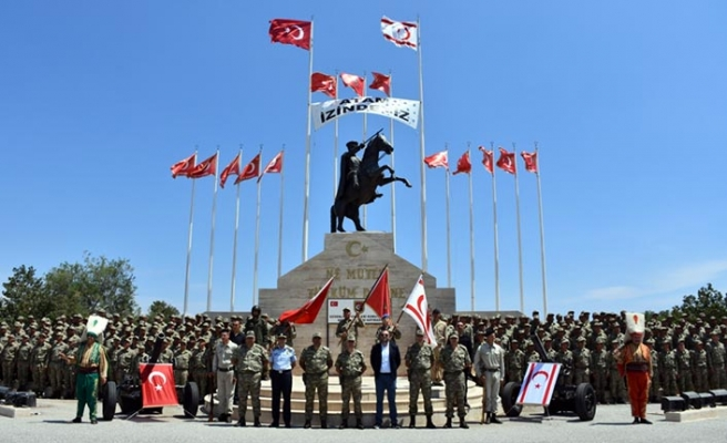 Güvenlik Kuvvetleri Komutanlığı'nın İlkbahar 2019 Celbi Erlerinin Ant İçme Töreni yapıldı