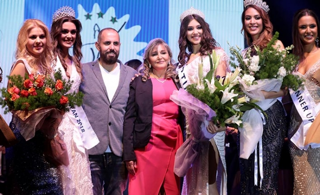 Merit 'Miss Mediterranean 2019' yarışmasında Portekizli Bruna Silva birinci oldu