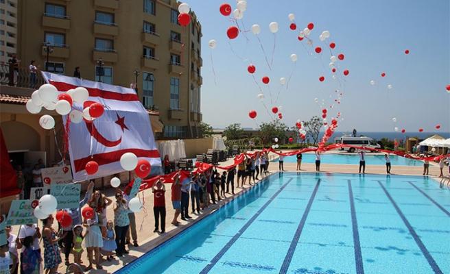 Merit Park Otel, 19 Mayıs Atatürk'ü Anma, Gençlik ve Spor Bayramı'na yakışan bir kutlama düzenledi