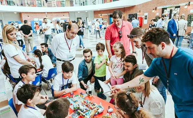 'Minik Bilim Kahramanları Buluşuyor' etkinliği Girne'de yapıldı