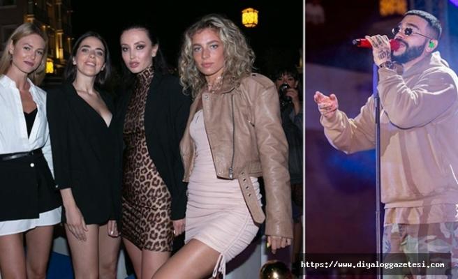 Tatillerini Merit Otellerinde geçiren Rus turistler, kendileri için özel olarak düzenlenen partide çılgınca eğlendi
