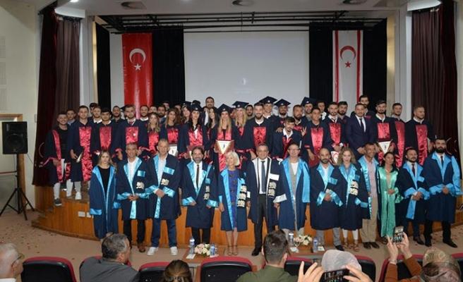 YDÜ Spor Bilimleri Fakültesi Bahar Dönemi Mezuniyet Töreni gerçekleştirildi