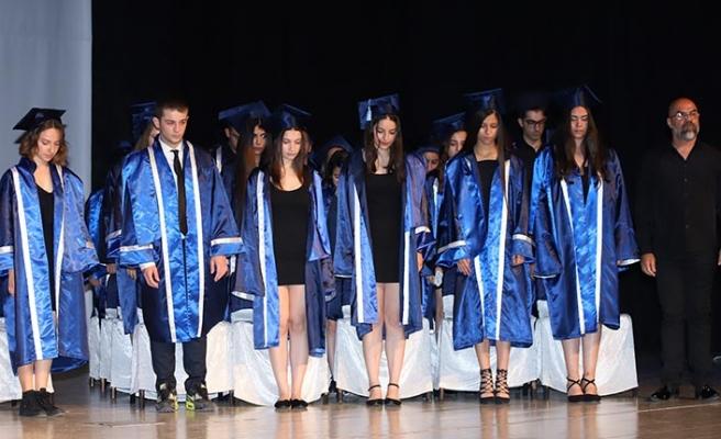 Gazimağusa TMK'da coşkulu mezuniyet töreni