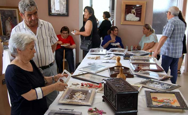 İskele-Kilitkaya ve Büyükkonuk'ta kadınların 1 yıllık çalışmaları sergi ile tamamlandı