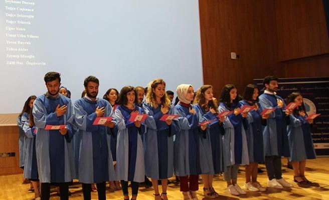 LAÜ Sağlık Fakültesi Mezunları için yemin töreni gerçekleştirildi