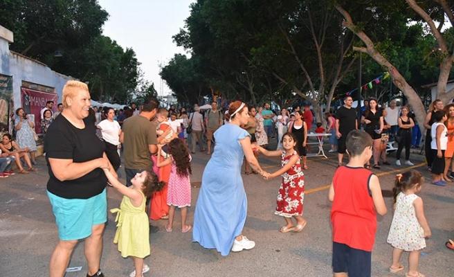 LTB ve Kıbrıs Vakıflar İdaresinin işbirliğinde Samanbahçe'de festival düzenlendi