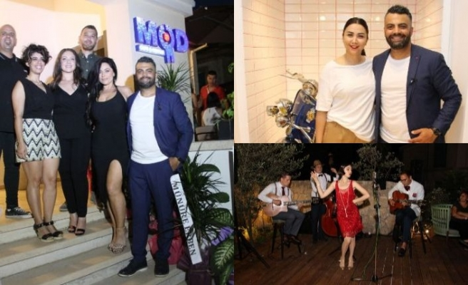 Selen Mesutoğlu, İbrahim Erben ve Hasan Hoca'nın işletmeciliğini yaptığı MOD Cafe & Bistro Lefkoşa'da hizmete başladı