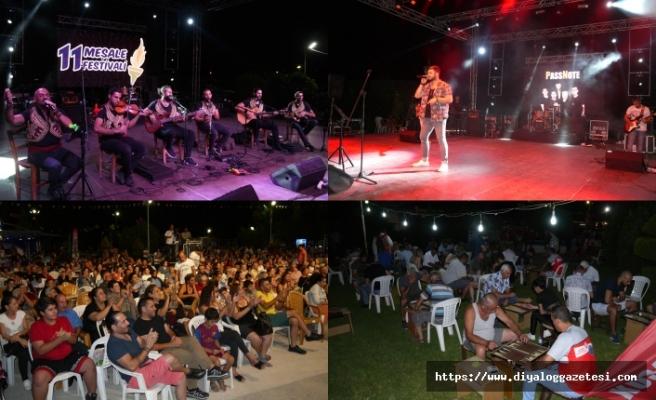 11 Meşale Festivali, muhteşem dans gösterileri ve konserlerle sona erdi