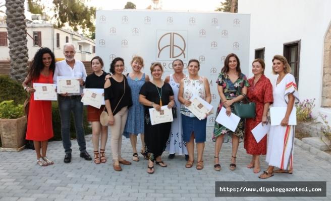 Arkın Sanat ve Tasarım Merkezi'nde düzenlenen kursların dönem sonu sergisi açıldı