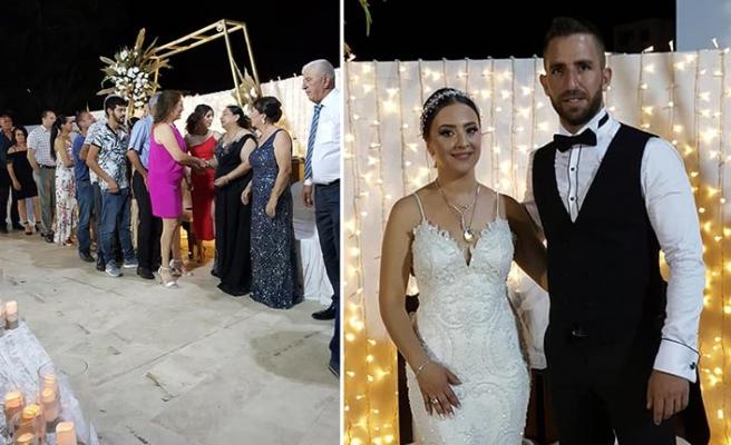 Mehmetçik Belediye Gazinosu, Selin ile Halil'in muhteşem düğününe ev sahipliği yaptı