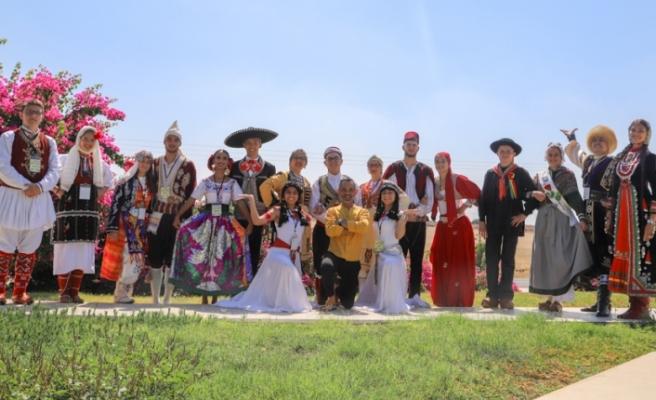 Patates Kültür Sanat Festivalinde sahne alacak ekipler, İlker Edip'i ziyaret etti