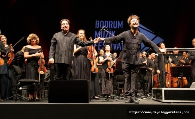 15. Bodrum Müzik Festivali'nde Umut senfonisi ayakta alkışlandı
