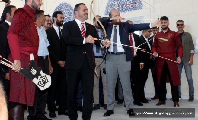 Bilal Erdoğan ok atışı yaptı