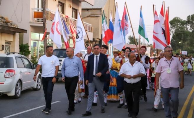 """""""Kültürlerin meşalesi Mesarya'da alevleniyor"""""""