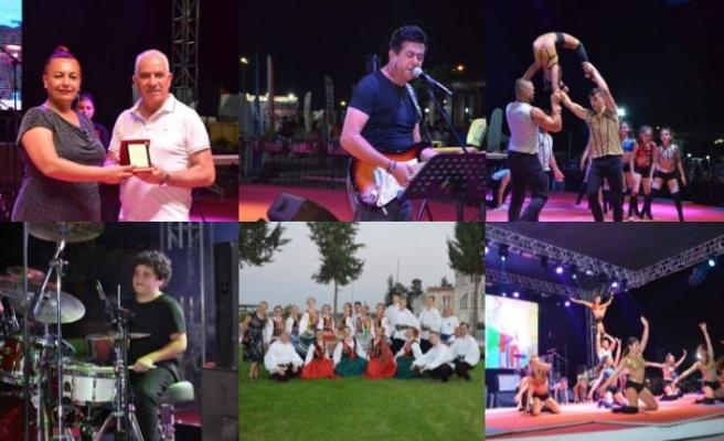 Pulya Festivali kapsamında dans grupları gösterilerini sundu, Enver Ermetal muhteşem bir konser verdi