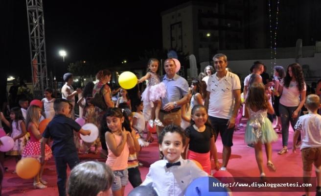 """Yeniboğaziçi Pulya Festivali etkinlikleri kapsamında """"Çocuk Etkinlikleri Gecesi"""" düzenlendi"""