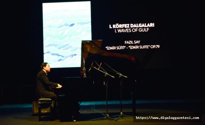 Dünyaca ünlü piyanist ve besteci Fazıl Say, Girne'de konser verdi