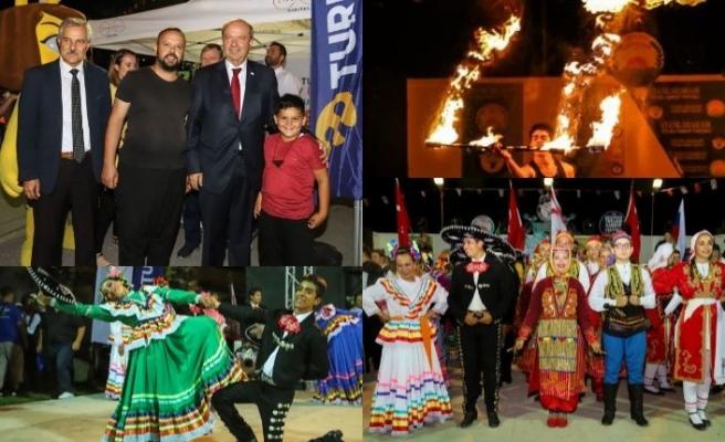 Harnup ve Halk Dansları Festivali renkli etkinliklere ev sahipliği yapıyor