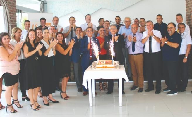 Limasol Sigorta 22'nci hizmet yılını kutladı
