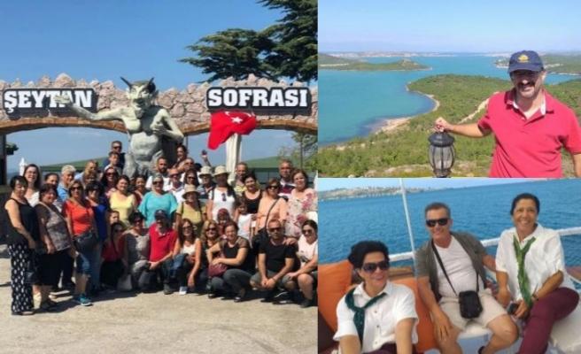 Turizm Derneğinin düzenlediği gezi büyük ilgi gördü