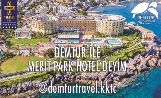 Demtur Travel'dan Merit Park Otel tatili kazanan talihli Lütfiye Değirmenci oldu