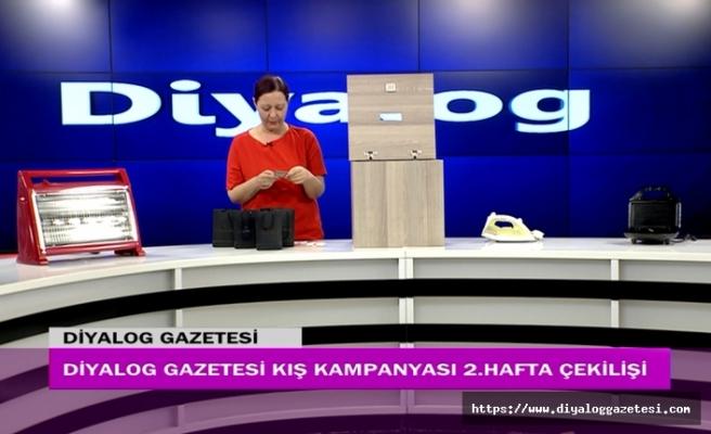 Diyalog Gazetesinin düzenlediği Kış Kampanyasının ikinci hafta çekilişi yapıldı