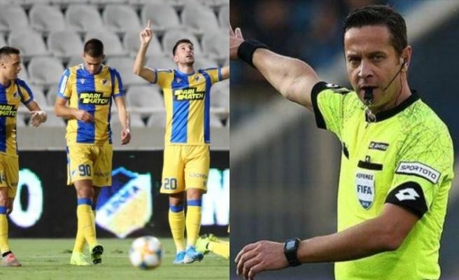 UEFA fanatizme boyun eğdi