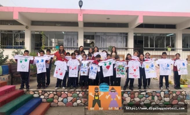 Yedidalga İlkokulu'nda çocuk haklarına yönelik farkındalık etkinliği gerçekleştirildi