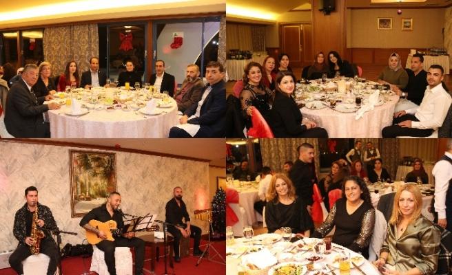 Lefkoşa Merit Hotel, Kıbrıs Türk Tütün Mamülleri Ltd. Şti çalışanlarının yeni yıl yemeğine ev sahipliği yaptı