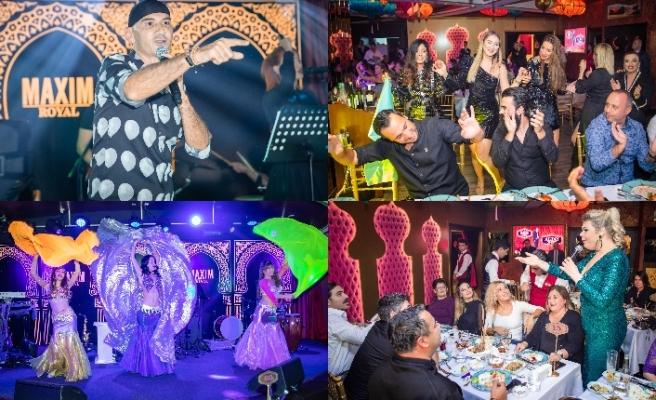 Maxim Royal'de sahne alan ünlü şarkıcı Altay, hayranlarıyla birlikte keyifli bir geceye imza attı