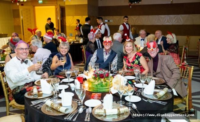 Merit Royal'de görkemli 'Noel' kutlaması