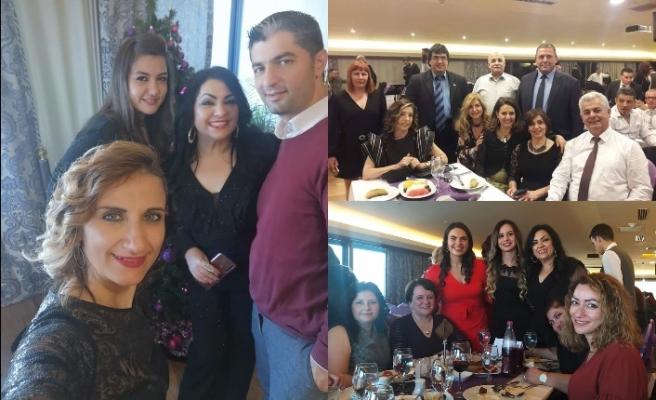 Vergi Dairesi çalışanları Yeni Yıl kutlamasını Merit Lefkoşa'da yaptı