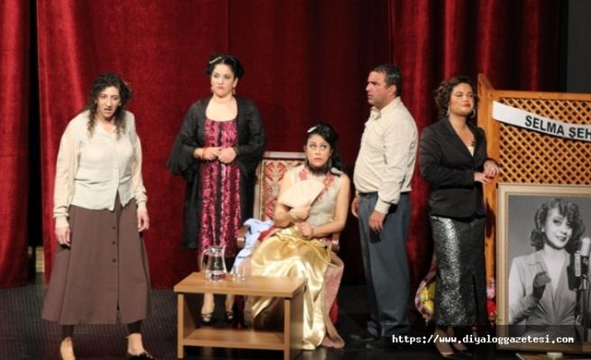 Çatalköy Belediye Tiyatro Su Ekibi turneye Beyarmudu'nda devam ediyor