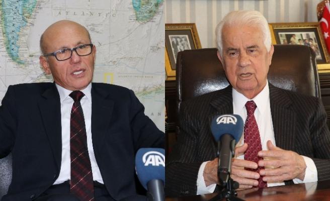 Eroğlu ile Talat, ölümünün 8. yıldönümünde Kurucu Cumhurbaşkanı Denktaş'ı anlattı