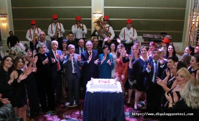 Limasol Bankası ve yan kuruluşları yeni yılı düzenlenen coşkulu balo ile karşıladı