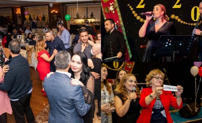Merit Lefkoşa Hotel personeli 2019'un yorgunluğunu eğlenerek attı