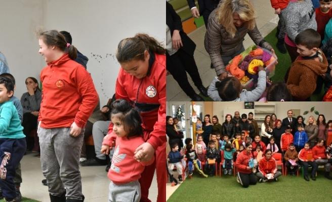 Yeşilyurt Özel Eğitim ve LTB El Ele Kreşi çocukları ile buluştu