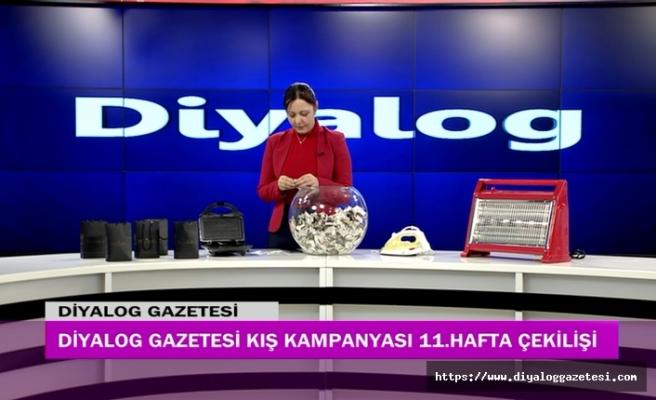 Diyalog Gazetesinin düzenlediği Kış Kampanyasının 11'inci hafta çekilişi yapıldı