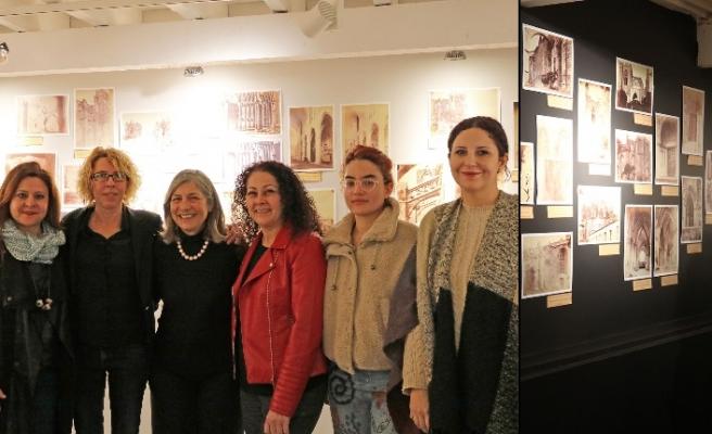 Girne Art Rooms Galeri'de sanatseverlerle buluştu