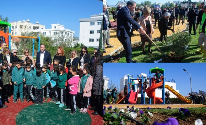 İlter Taşpınar'ın ismi Küçük Kaymaklı'daki çocuk parkına verildi