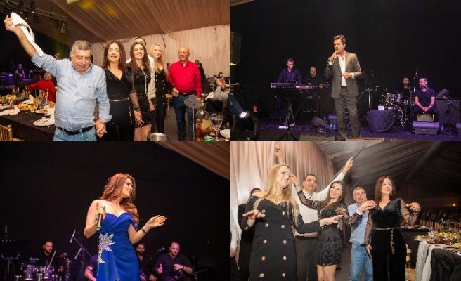 Merit 'te Joumana Attieh ve Hady Khalil, şarkıları ile dinleyenlerine unutamayacakları bir gece yaşattı