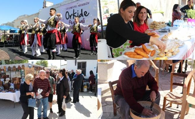 10'uncu Hisarköy Orkide Festivali büyük ilgi gördü