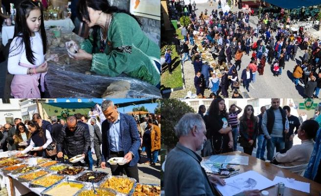 5.Tatlısu Ot Kültür Festivali başladı; 35 çeşit ottan yapılan yemekler ikram edildi