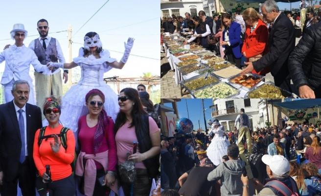 Bu yıl 5'incisi düzenlenen Ot Kültür Festivaline yoğun katılım oldu