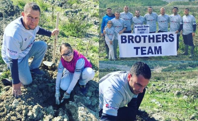 Gençlerin oluşturduğu Brother's Team, örnek etkinliklere imza atıyor
