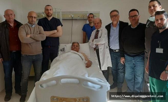 Sağlık Bakanı Pilli'ye anjiyo yapıldı