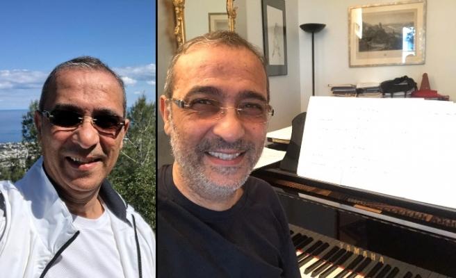 CTP milletvekili Fikri Toros'un 'eve kapanma' günleri piyano çalarak geçiyor