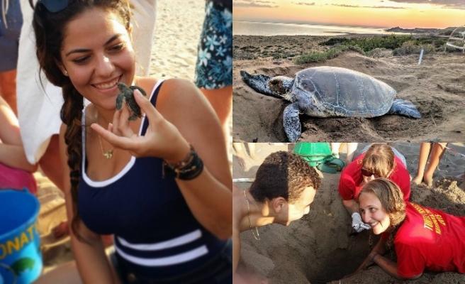 Kaplumbağaları koruma projesi için gönüllüler aranıyor