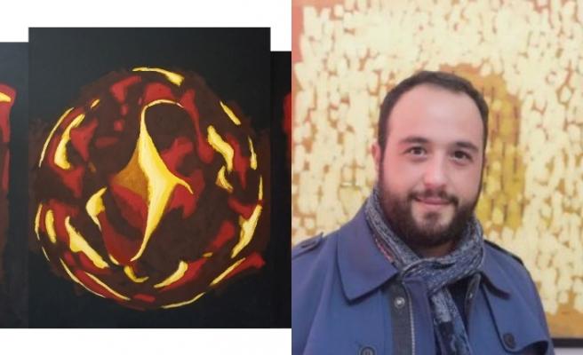 Akademisyen-Sanatçı Hasan Zeybek, Covid -19 salgını ile ilgili mücadeleyi çizdi